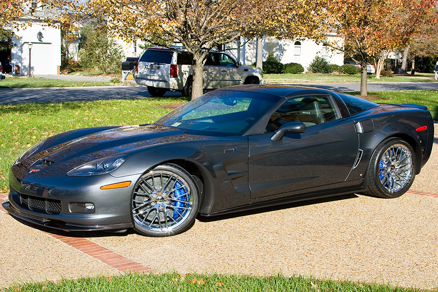 2009  Chevrolet Corvette ZR1  picture, mods, upgrades