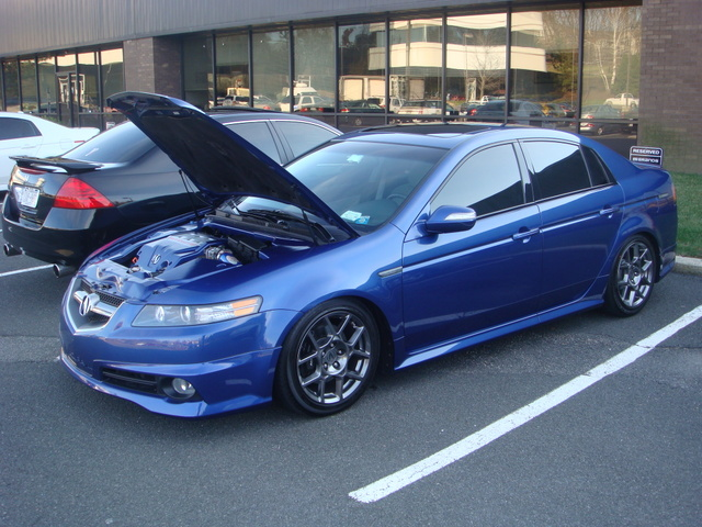 You can vote for this Acura TL type s to be the featured car of the month on