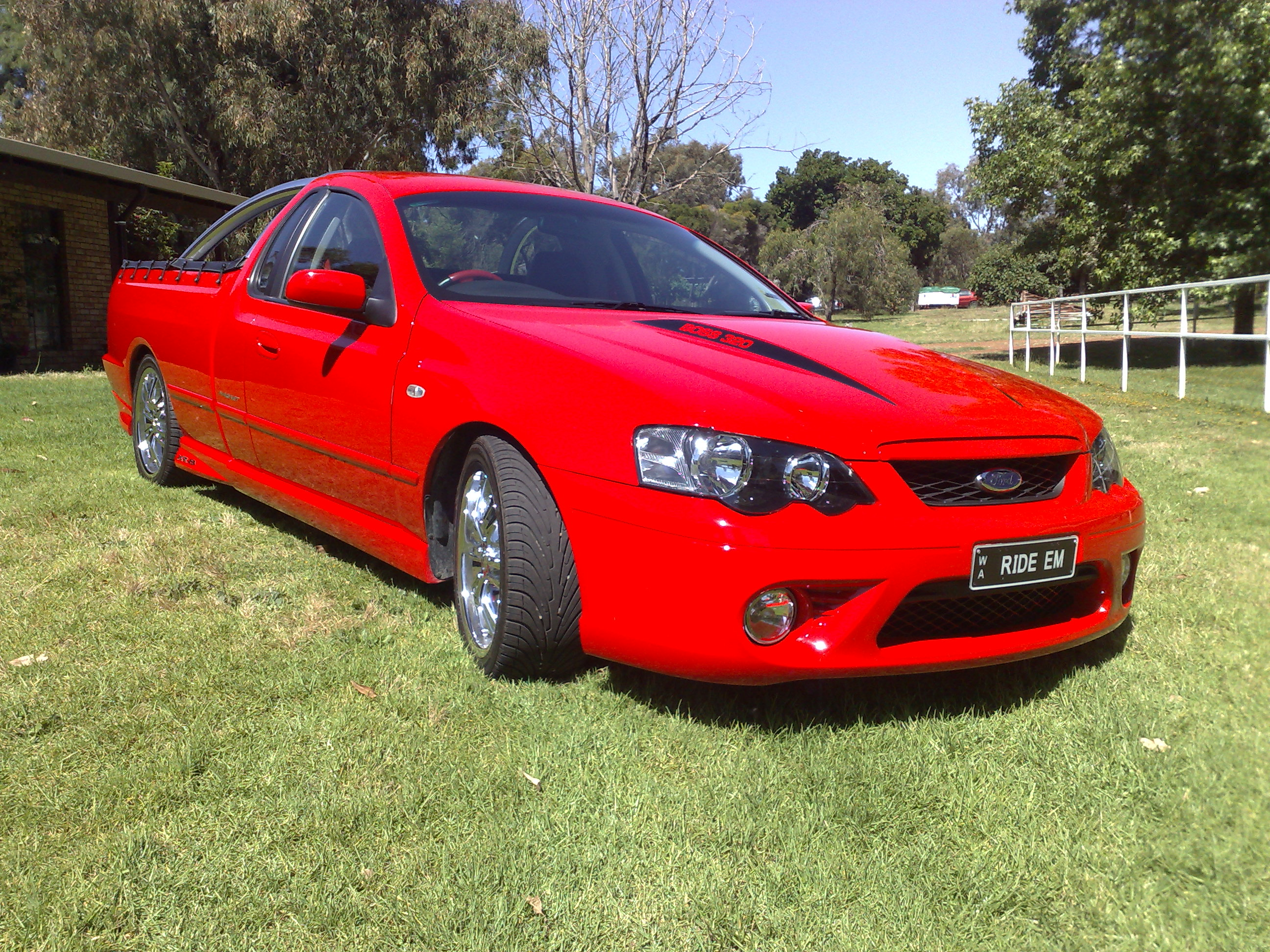 2006 Ford Falcon Xr8 Ute 1 4 Mile Drag Racing Timeslip Specs 0 60