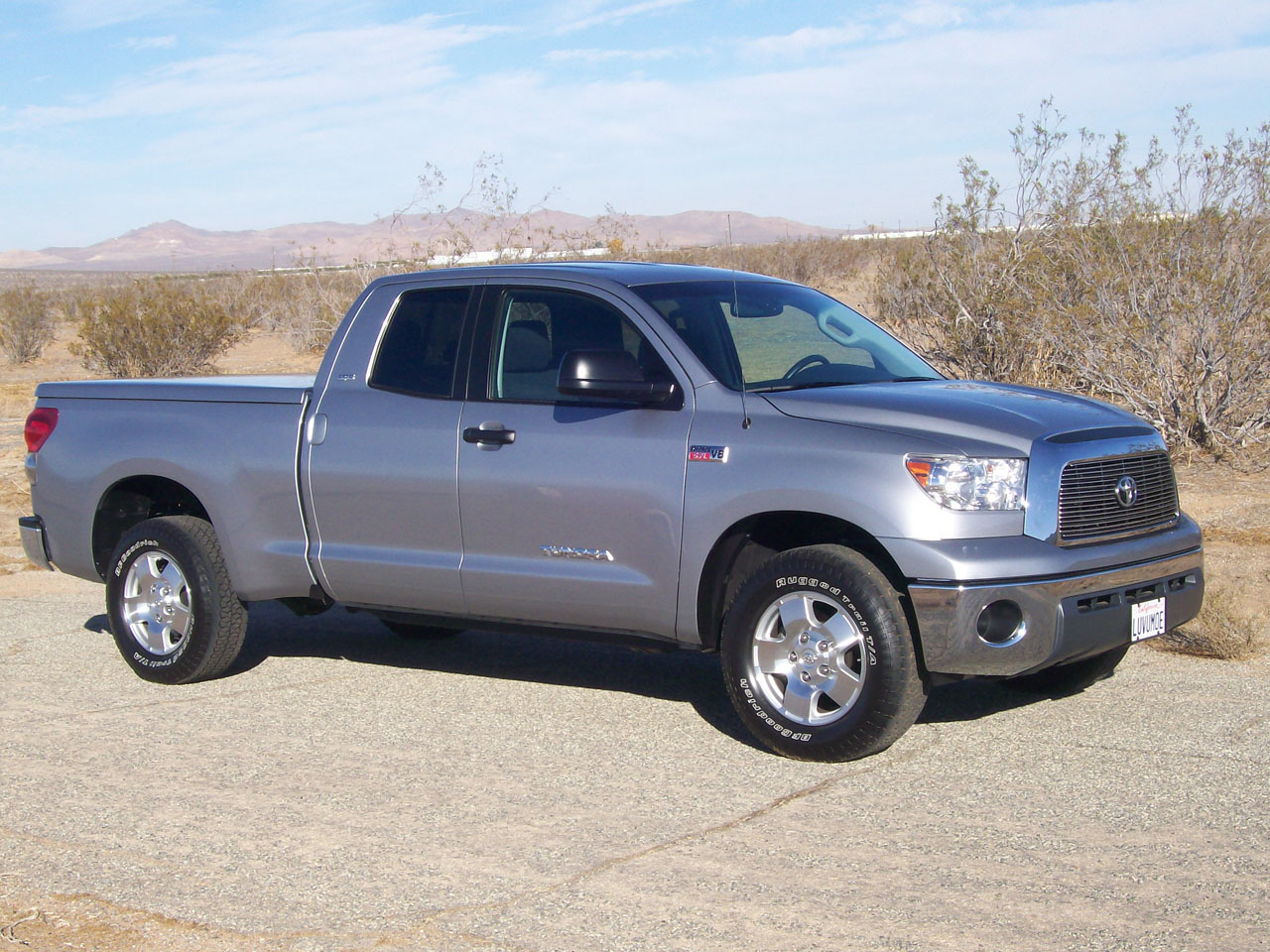2007  Toyota Tundra Double cab 5.7  2wd picture, mods, upgrades