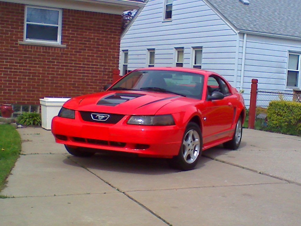 2000  Ford Mustang base picture, mods, upgrades