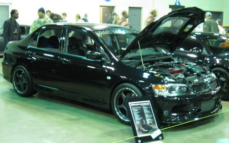 2005  Mitsubishi Lancer EVO GSR picture, mods, upgrades