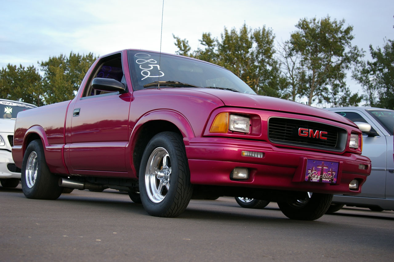 1995 gmc sonoma sl rcsb 1 4 mile drag racing timeslip. Black Bedroom Furniture Sets. Home Design Ideas