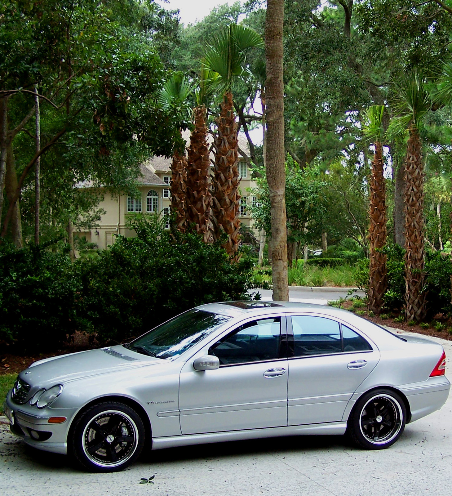 2003 mercedes benz c32 amg 1 8 mile drag racing timeslip 0