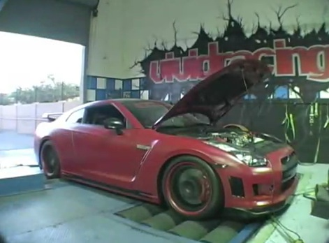 2009  Nissan GT-R Vivid Racing picture, mods, upgrades