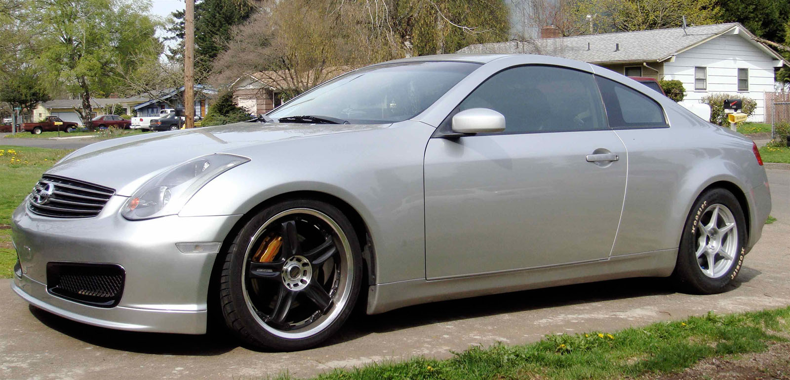 2004 infiniti g35 coupe mt 1 4 mile trap speeds 0 60. Black Bedroom Furniture Sets. Home Design Ideas