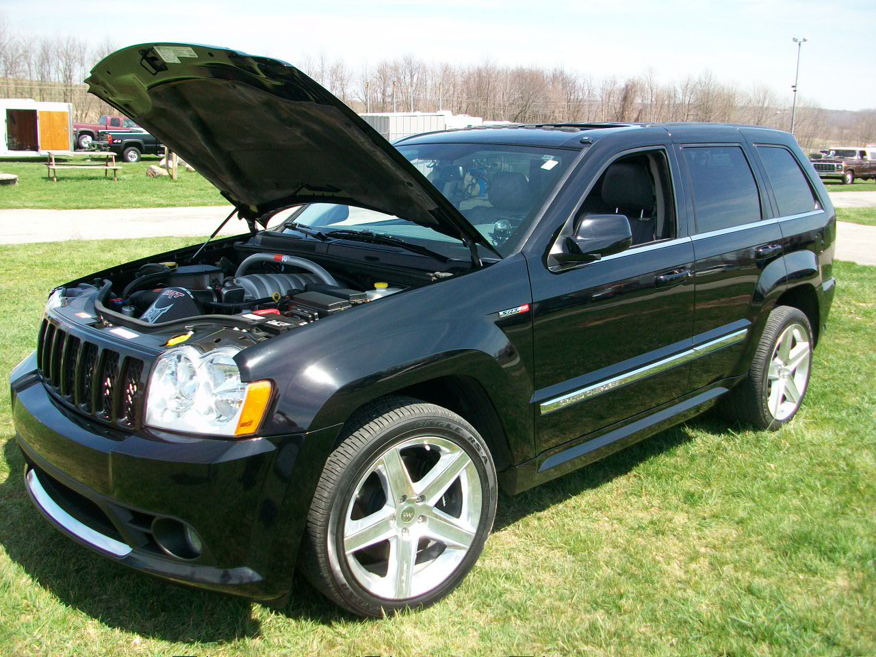2006 jeep grand cherokee srt8 1 4 mile drag racing timeslip specs 0 60. Black Bedroom Furniture Sets. Home Design Ideas
