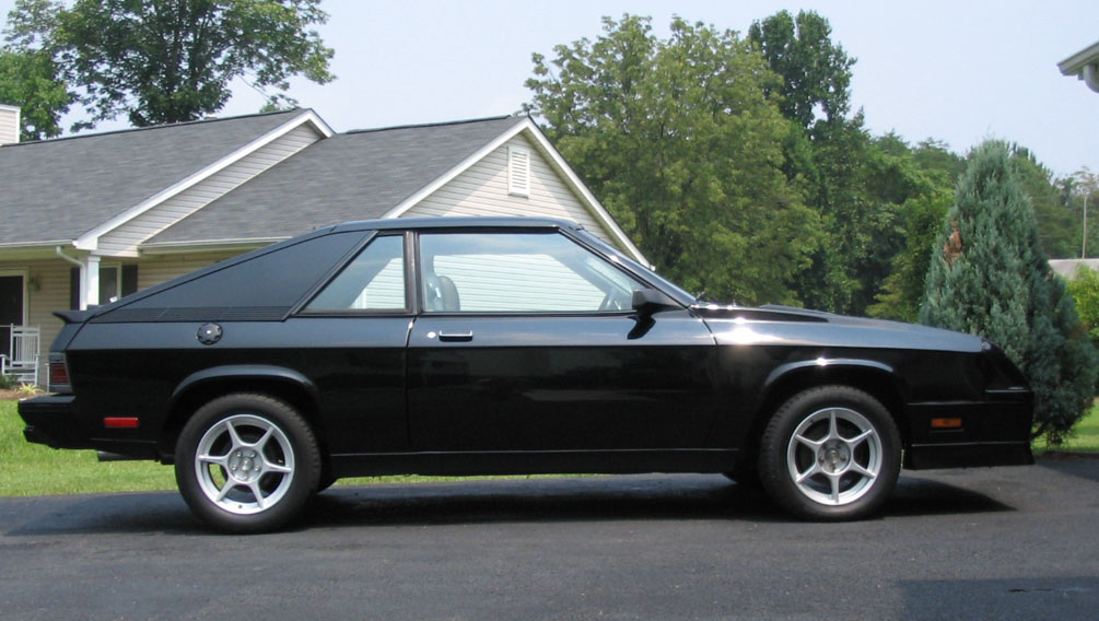 1987 Dodge Shelby Charger GLHS SHELBY