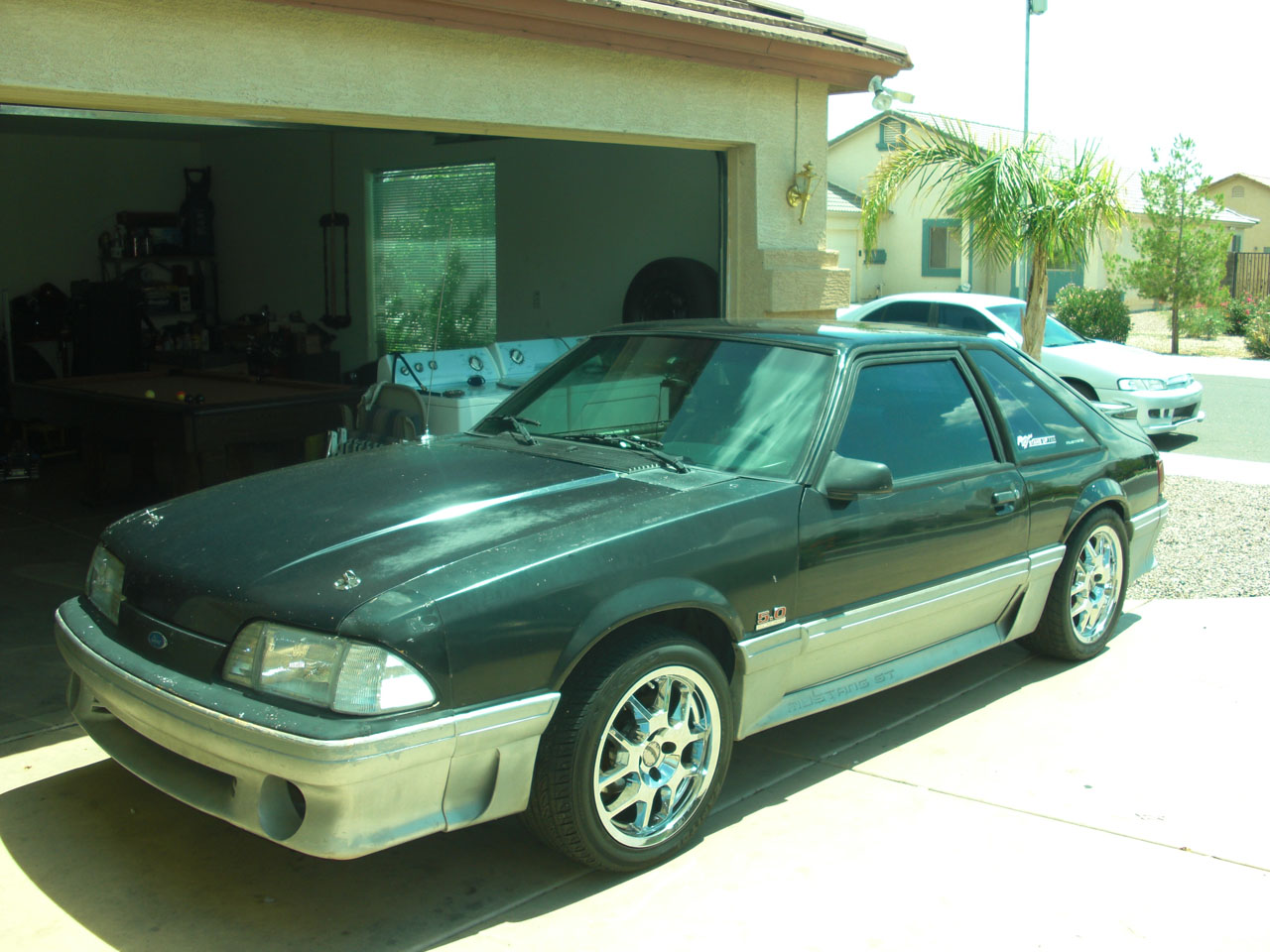 1988  Ford Mustang GT SUPERCHARGER picture, mods, upgrades
