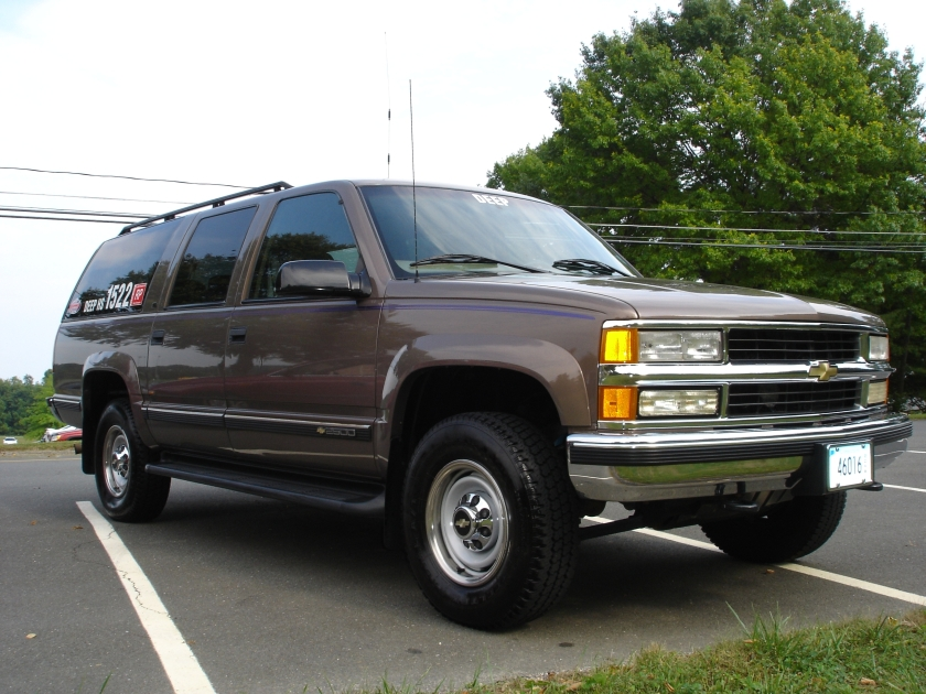 Stock 1998 Chevrolet Suburban K2500 1 4 Mile Drag Racing