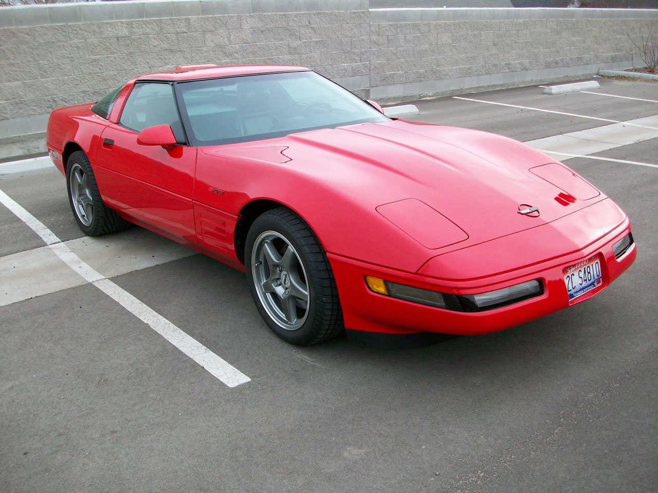 1 4 Mile Times >> 1991 Chevrolet Corvette ZR-1 1/4 mile trap speeds 0-60 ...