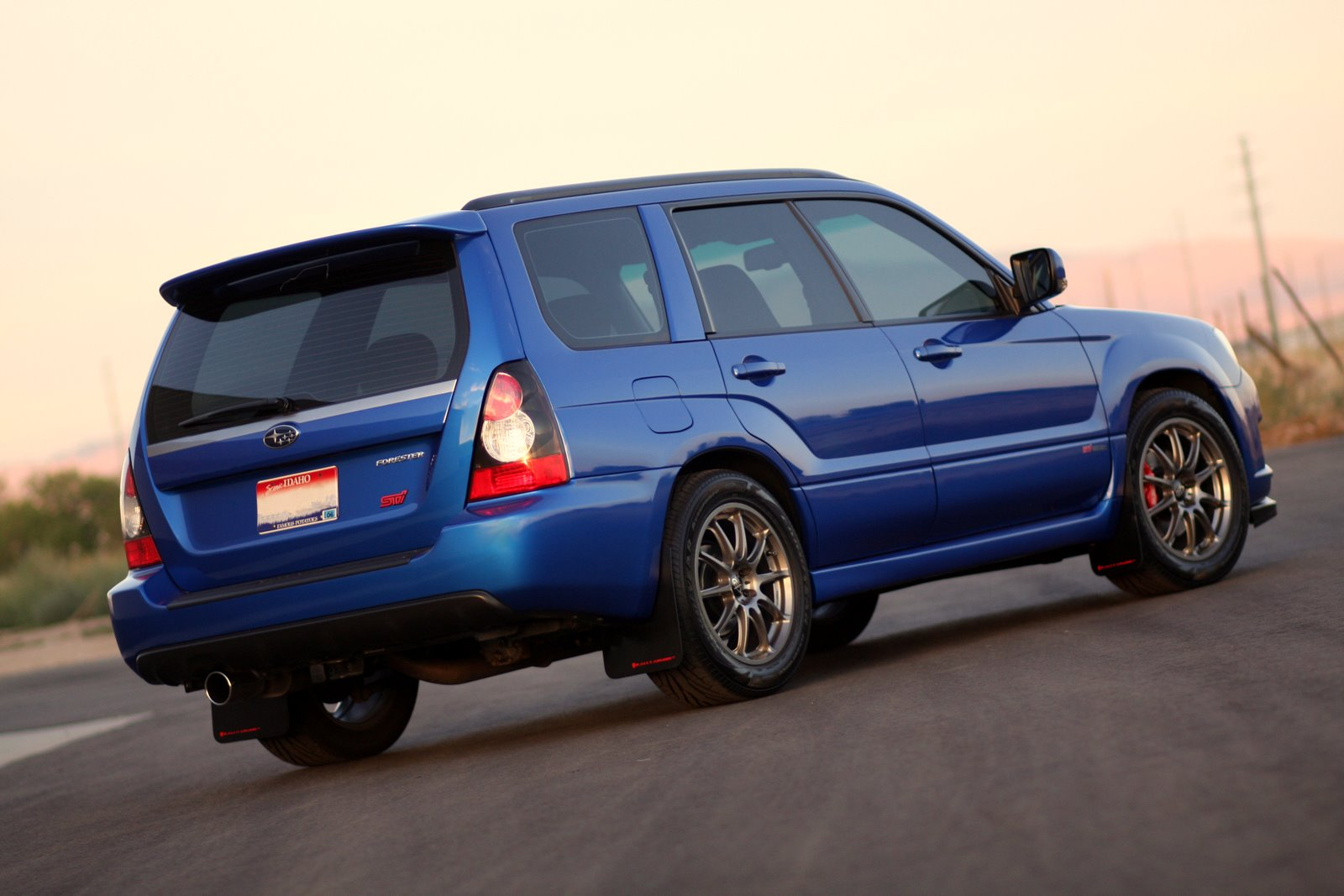 2007  Subaru Forester Sports XT picture, mods, upgrades