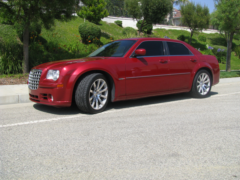 2007 Red Chrysler 300 SRT-8 picture, mods, upgrades