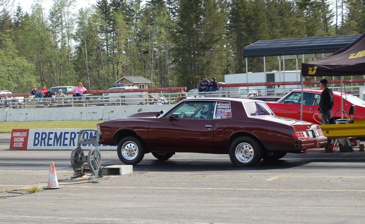 1979 Chevrolet Monte Carlo 1/4 mile Drag Racing timeslip specs 0 ...