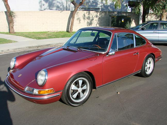 1968 Porsche 911 911L Coupe 1/4 mile Drag Racing trap speed 0-60