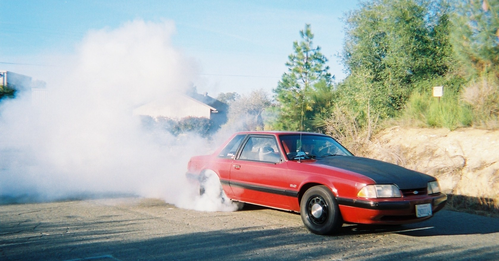 1989 Ford Mustang lx notch