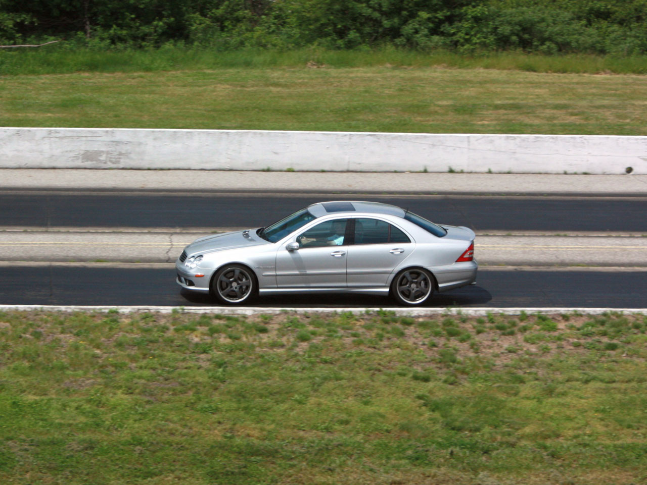 2005 mercedes benz c55 amg kleemann s7 1 4 mile trap for Mercedes benz c55 amg