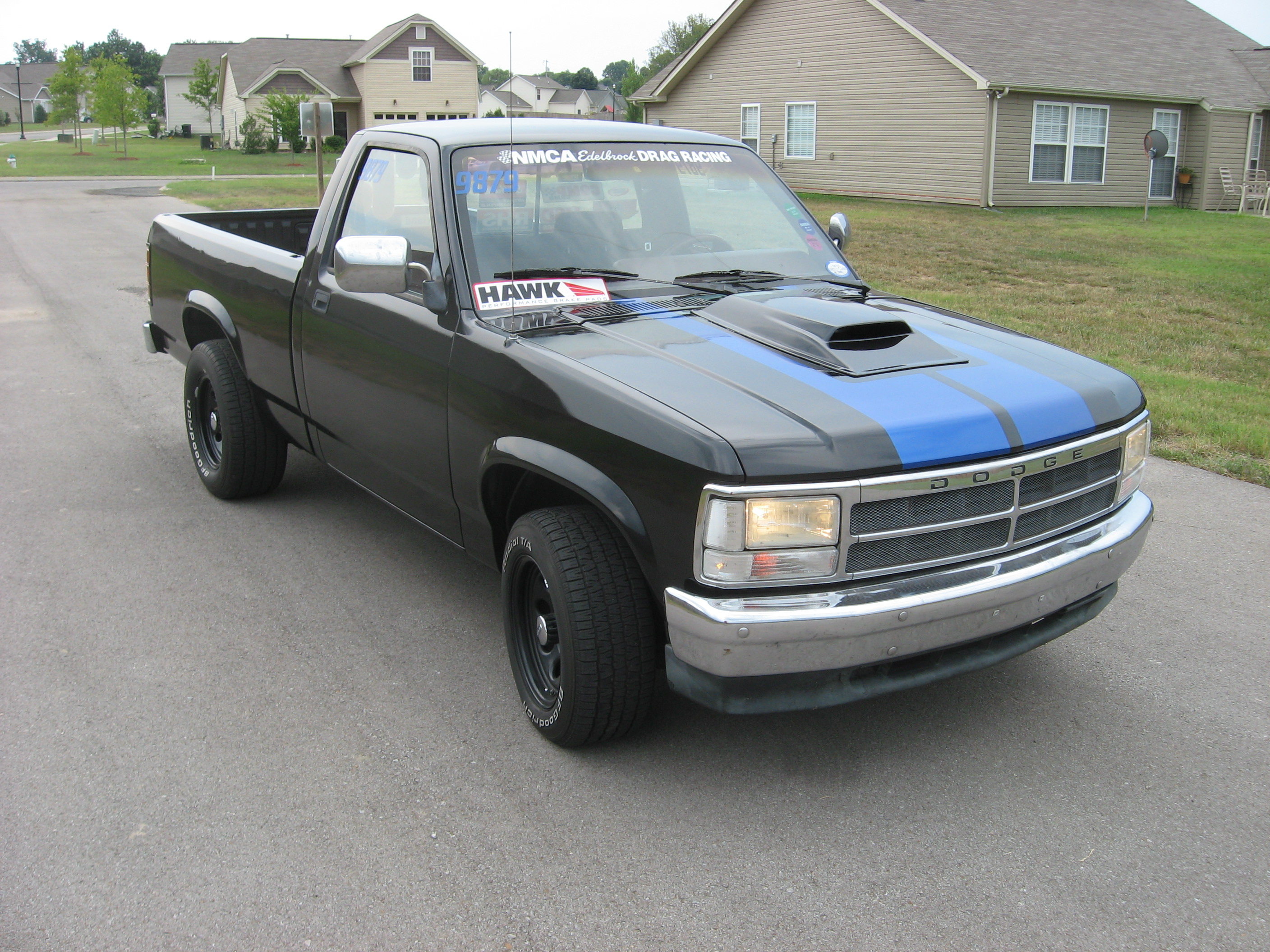 Brilliant Black Pearl (PXR) 1993 Dodge Dakota LE