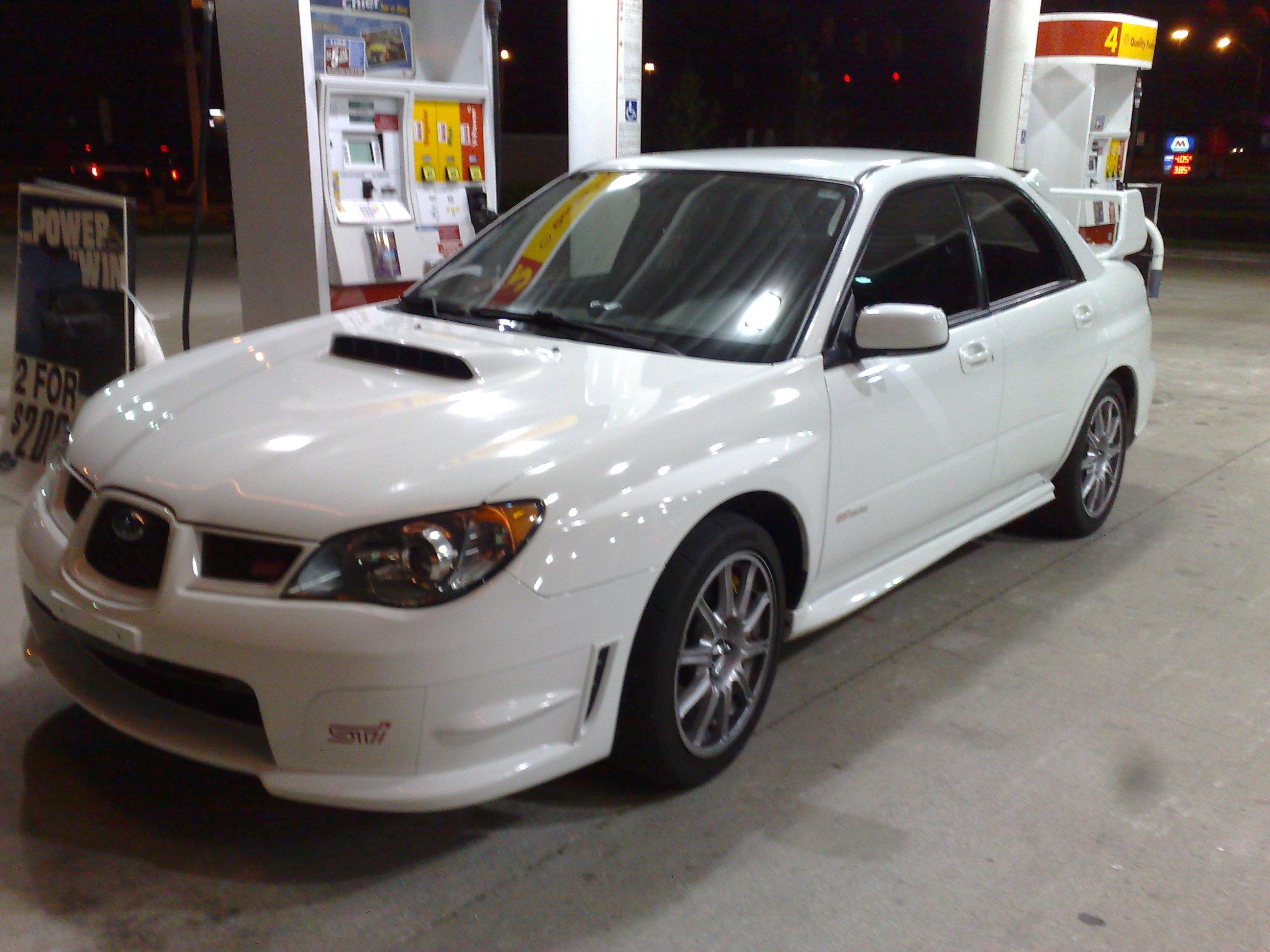 2006 Subaru Impreza WRX STi 1/4 mile Drag Racing timeslip specs 0-60 ...
