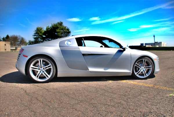 2009  Audi R8 Intake Evoms V-Flow picture, mods, upgrades