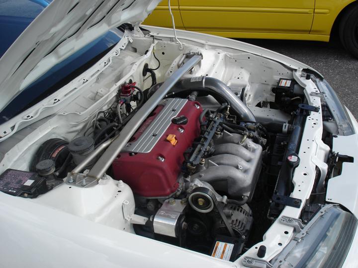 1993 Acura Integra Type R (RHD) K20 B00sted 1/4 mile Drag ...
