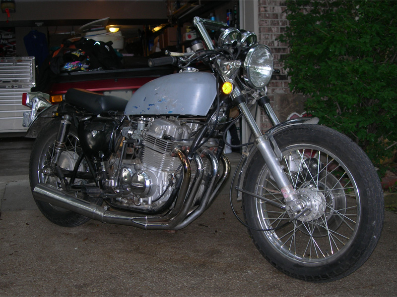 1975  Honda CB 750K picture, mods, upgrades