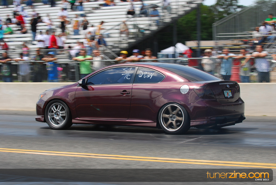 2006 Scion Tc 1 4 Mile Drag Racing Timeslip Specs 0 60 Dragtimes Com