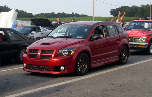 2008 Dodge Caliber SRT-4 1/4 mile Drag Racing timeslip specs 0-60 ...