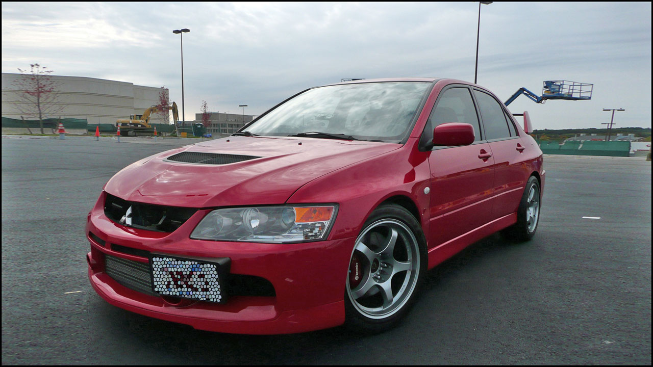 2006  Mitsubishi Lancer EVO IX SSL picture, mods, upgrades