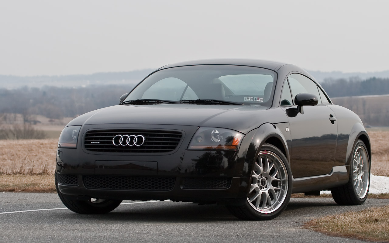 2002 audi tt 1.8t 180hp 1/4 mile drag racing timeslip specs 0-60