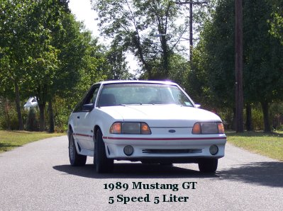 1989  Ford Mustang GT picture, mods, upgrades