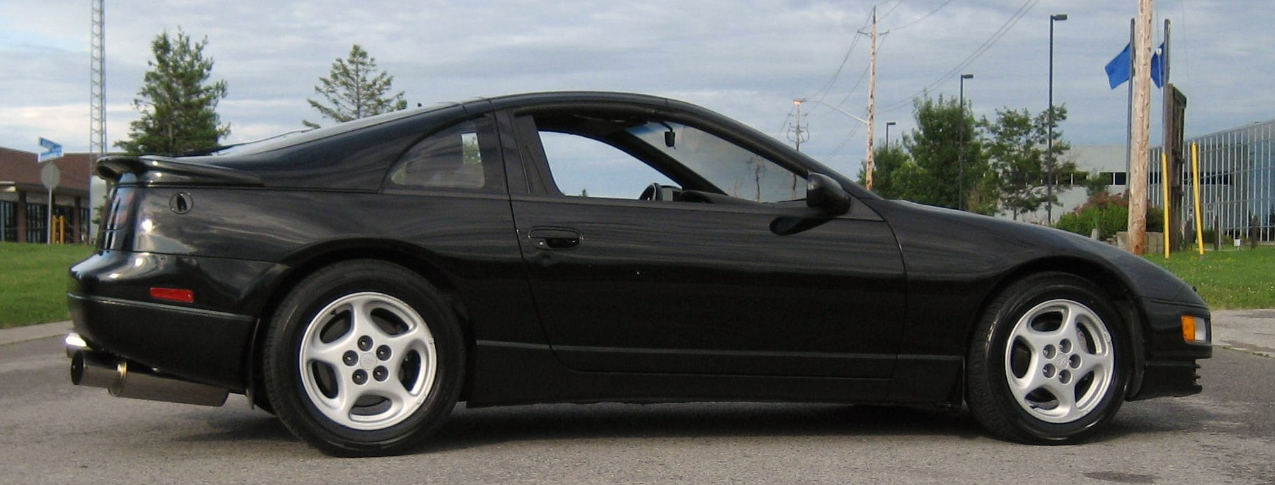 1990 Black Nissan 300ZX Twin Turbo picture, mods, upgrades