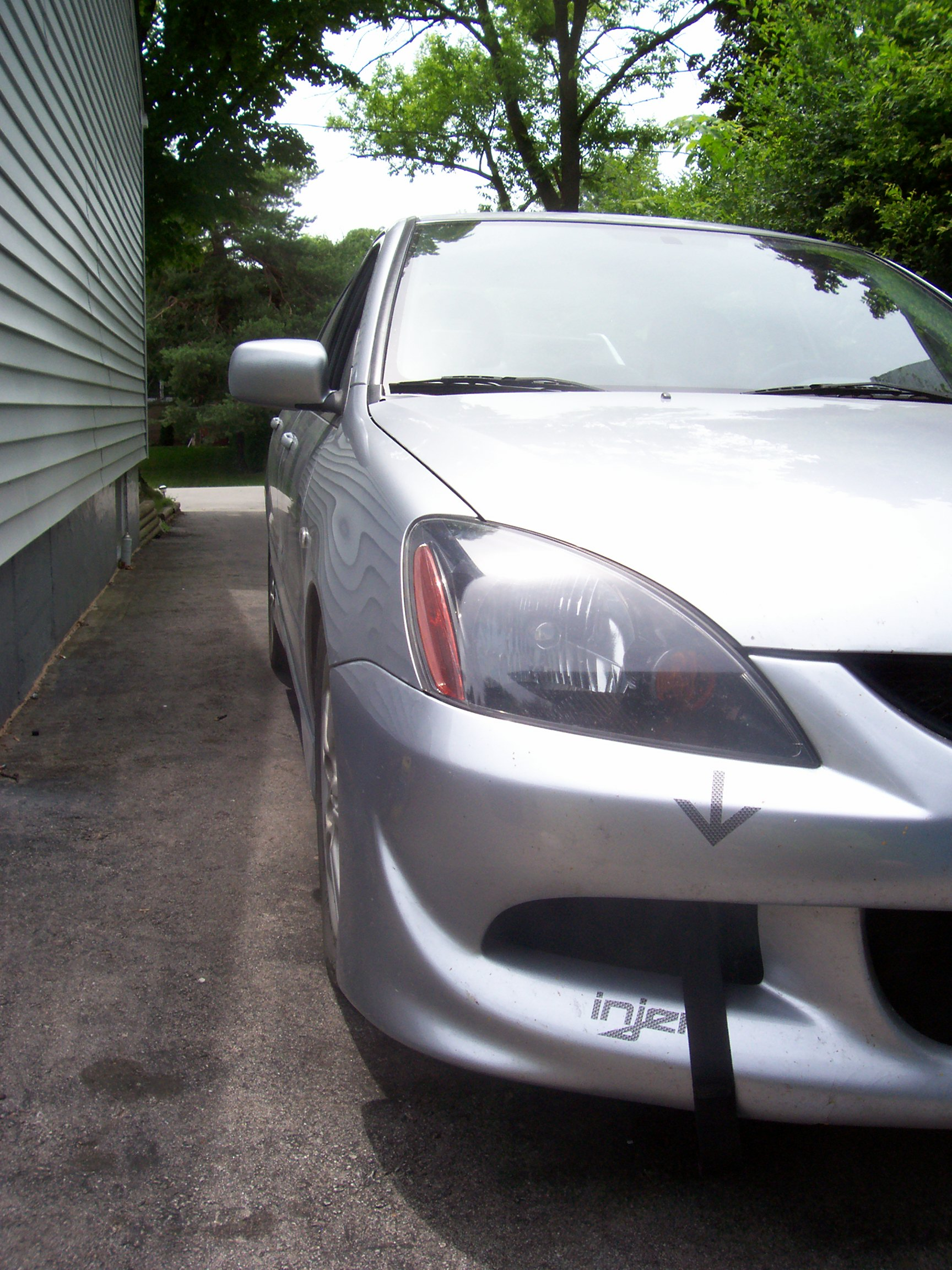2005 Mitsubishi Lancer RalliArt 14 mile Drag Racing timeslip