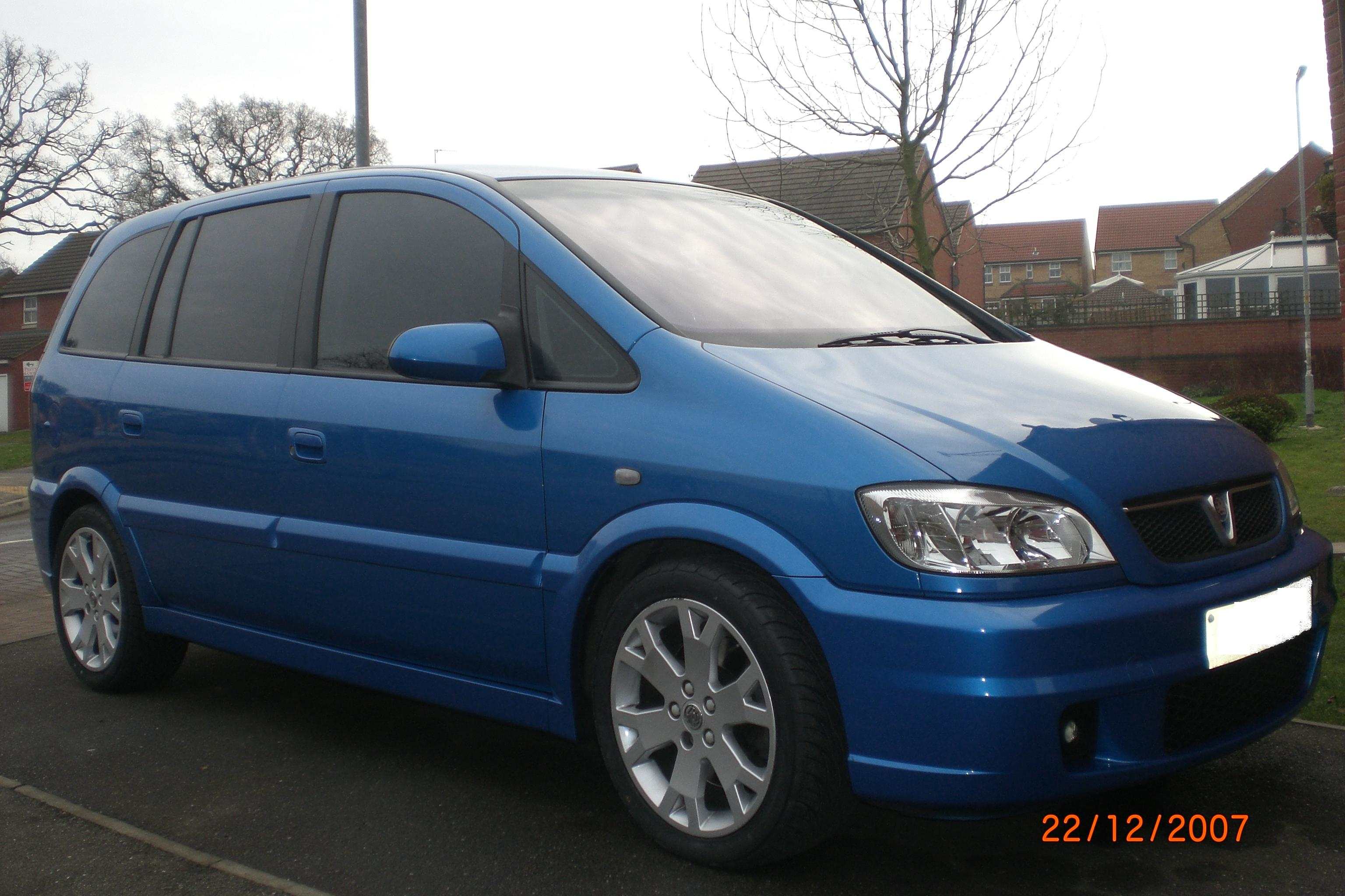 2003  Vauxhall Zafira GSI TURBO picture, mods, upgrades
