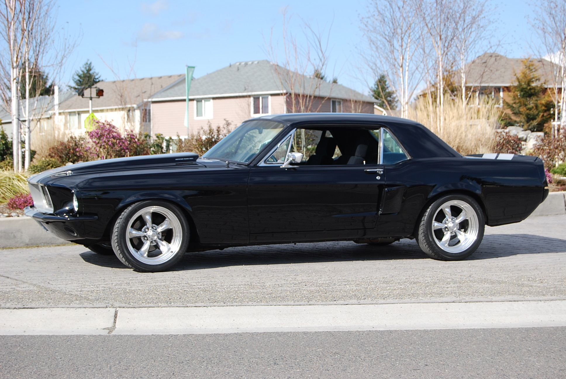 1968 ford mustang gt coupe picture mods upgrades
