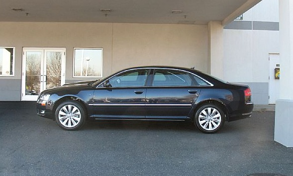 You can vote for this Audi A8 L 4.2 Quattro to be the featured car of the