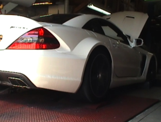 SL65 AMG BS on the Dyno