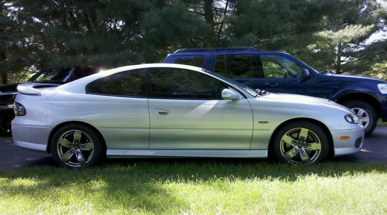 2005 Quick Silver Pontiac GTO LS2 picture, mods, upgrades