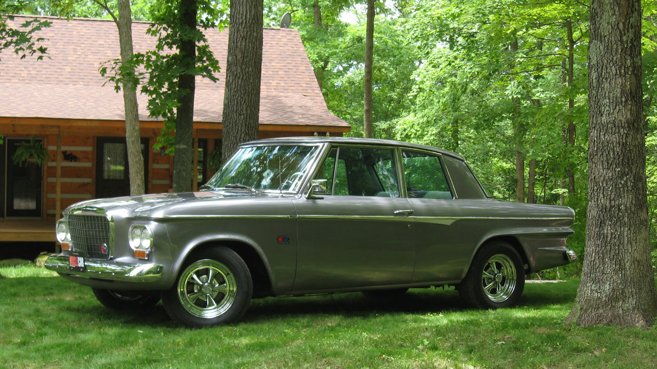 1963 Studebaker Lark R1 four speed