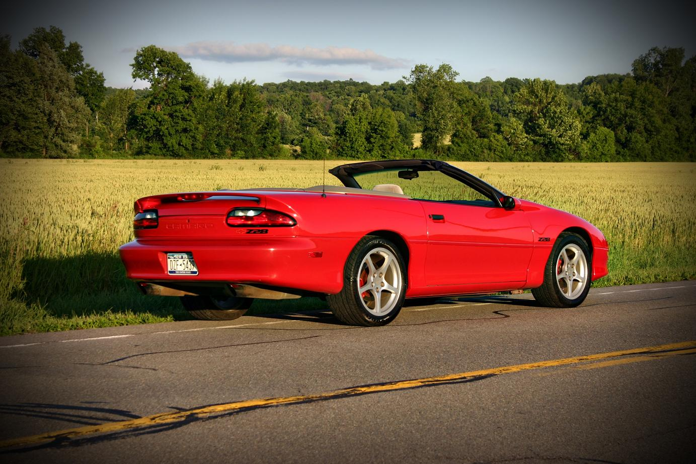 1996  Chevrolet Camaro Z-28 Convertible picture, mods, upgrades