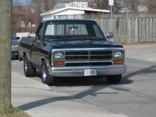 1987 Dodge Ram Pickup D150 1/4 mile trap sds 0-60 - DragTimes.com