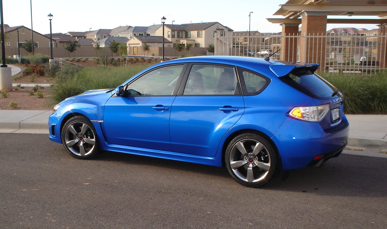 2008  Subaru Impreza STI picture, mods, upgrades