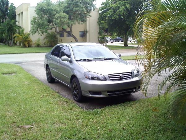 2004  Toyota Corolla Le picture, mods, upgrades