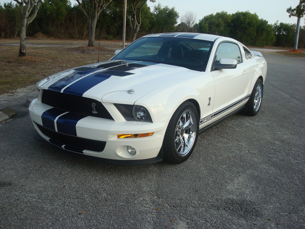 2008 Ford Mustang Shelby-GT500 Coupe Whipple Zex Nitrous 1/4 mile Drag