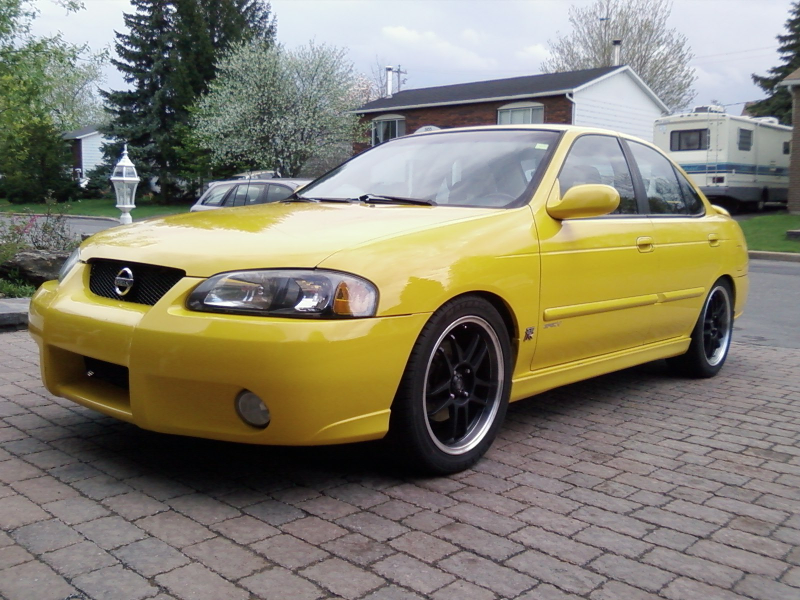 2003  Nissan Sentra SE-R Spec V picture, mods, upgrades