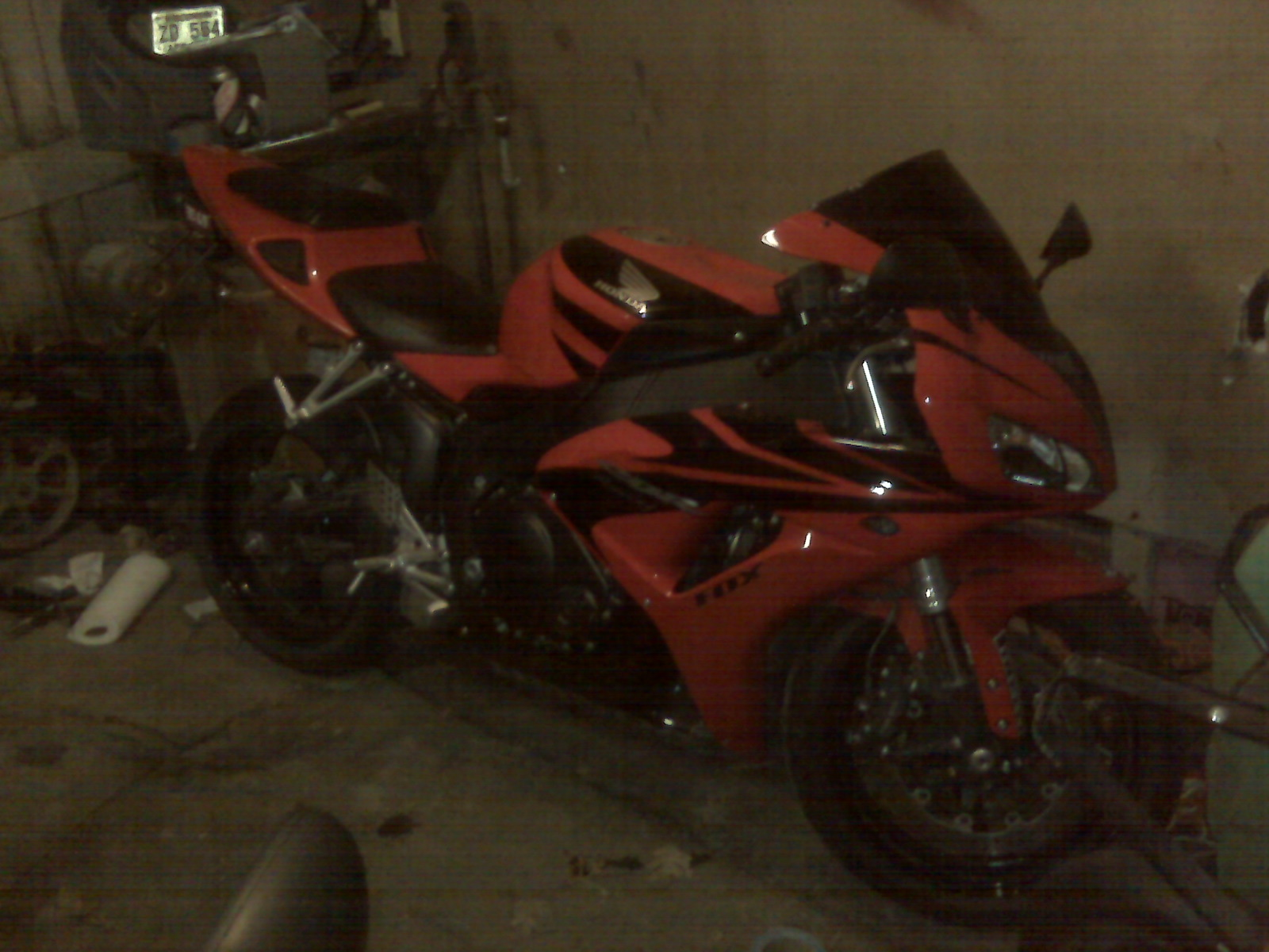 2007  Honda CBR 1000RR picture, mods, upgrades