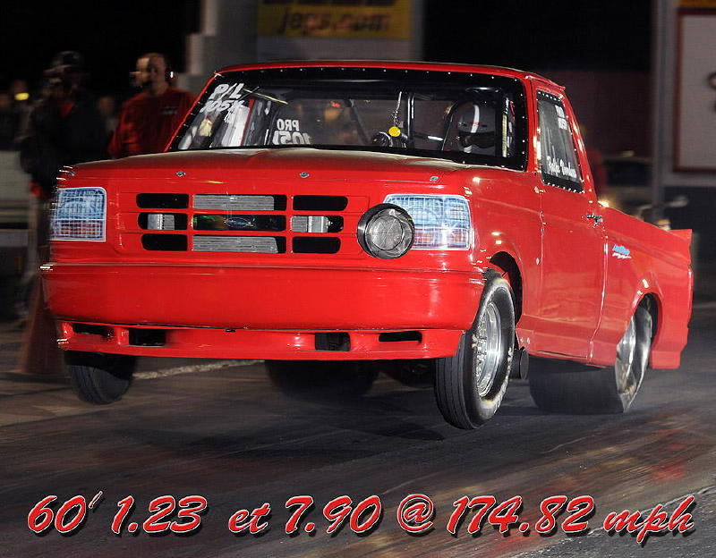 1993  Ford F150 Lightning pickup truck turbo picture, mods, upgrades