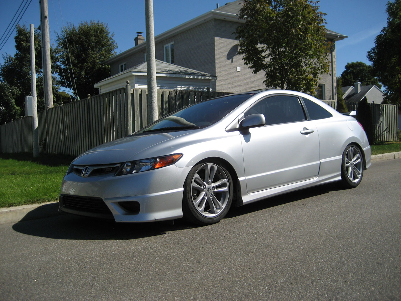 Honda 2006 honda coupe : 2008 Honda Civic Si Coupe 1/4 mile Drag Racing timeslip specs 0-60 ...