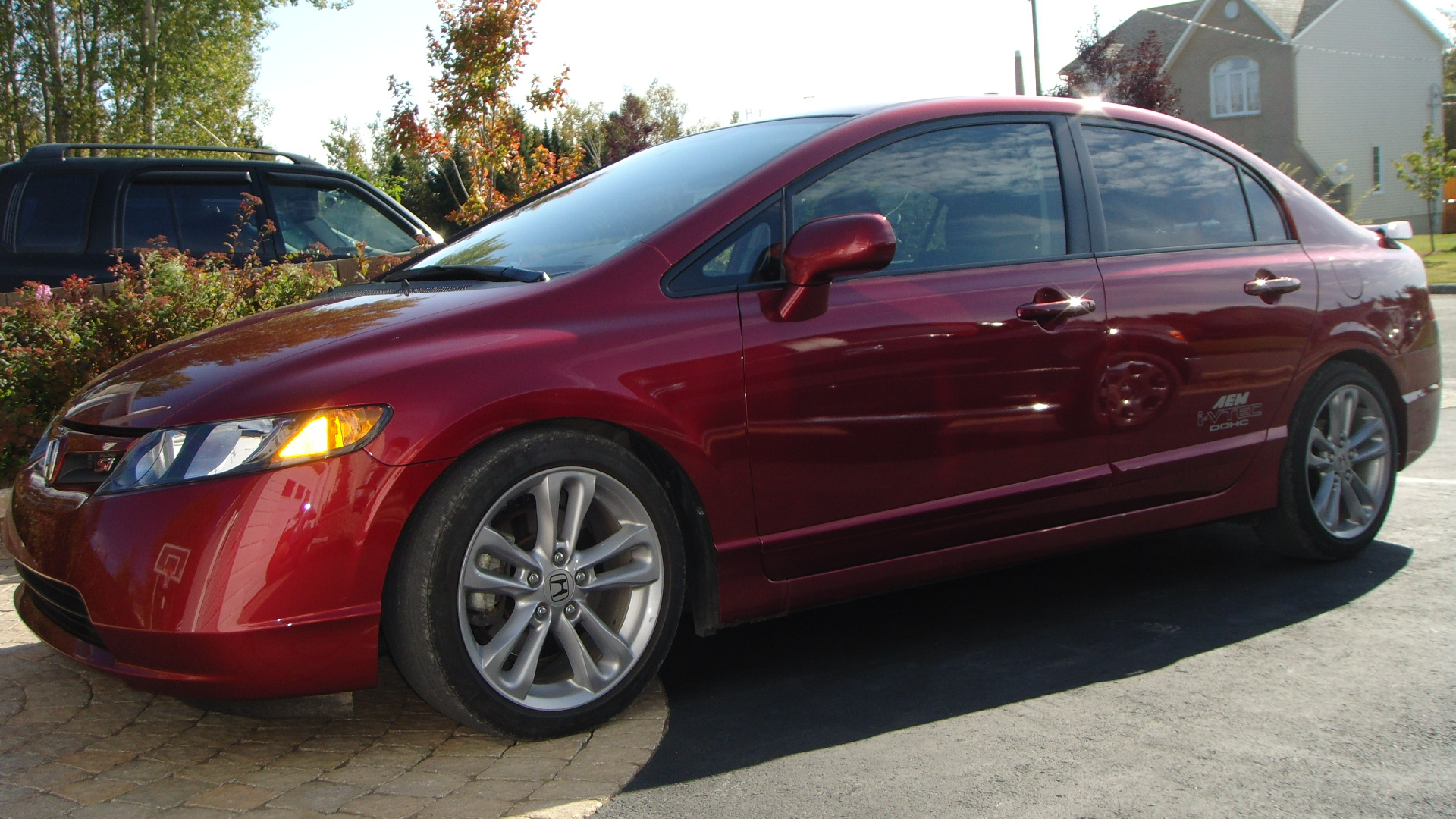 Honda Civic Si 2008 Sedan Jdm