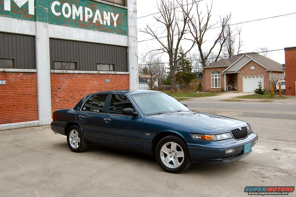 1996  Mercury Grand Marquis LS picture, mods, upgrades